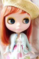 Friendly Freckles Blythe by ChibiRed