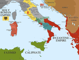 Italy and the Holy Roman Reich by Hillfighter