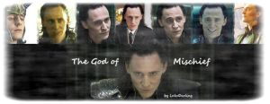 The God of Mischief - Facebook Cover by LuluDarling