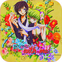 C.C. y Lelouch by akumaLoveSongs