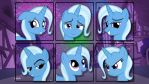 Faces of Trixie by NathanTheMighty