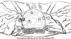 Technodrome WIP by rtfs1
