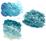 Water studies by Pottetto