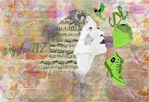 Hummingbird's Song by AeliaNaqwiDesigns
