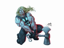 Ultimate Thor by julioferreira
