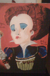 red queen painting by Humpty--Dumpty