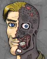 """.""""Two-face by Theo-art"""