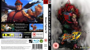 SFIV PS3 Cover Replacement by Greenstuff-Alex