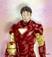 I am Iron Man by koborquez