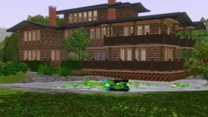 Sims 3 Lakeside house by RamboRocky
