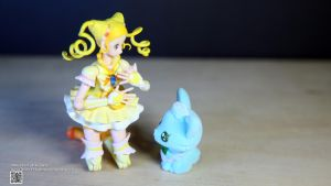 SHF Pretty Cure Lemonade With JewelPet Milky by Digger318
