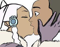 Sokka and Yue by Remeber-To-Blink