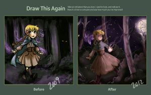 Draw This Again: Elise Magrey by thedandmom