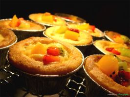 Mini Fruit Tart 1 by munchinees