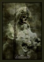 White flowers for the bride by D3vilusion