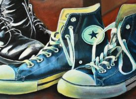 My Chucks by Y-LIME