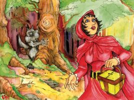 Red Riding Hood by Mortal-Mirror