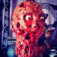 Rotted Zombie Head by VorchaGirl