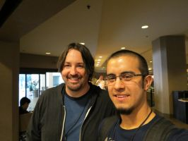 Me and M.A. Larson by EROCKERTORRES