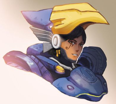 Overwatch-Pharah by lucky1717123