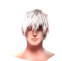 My First Digital Painting: Khayos Face by Dex91