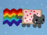 Nyan Cat by black-moon-flower