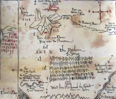 Thorin's Map by cirruscastle