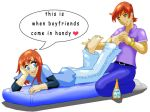 Sean and Taylor - foot massage by hofit-mil