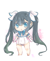 Chibi Hestia by SweetieMoon