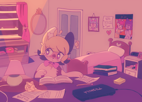reading for days by takeoffthebrawsnao