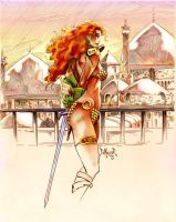 Red Sonja by kimdemulder