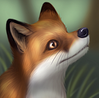 Fox in a Forest by CodeFly