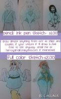 CHEAP commissions OPEN by BloodBunnyBeth