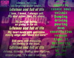 Poem Graphic - The Beat by SvenDesigns