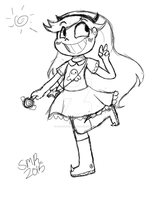 Star Butterfly by SugarHIGH-cHAOS