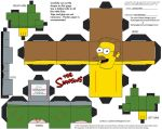 Simpsons5: Ned Flanders Cubee by TheFlyingDachshund