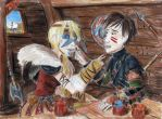 Face Painting by Taipu556