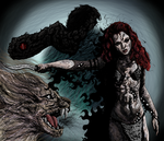 176 - Red Sonja colored by SSSS681
