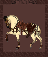 Steampunk Nordanner Tack - Sale by emmy1320