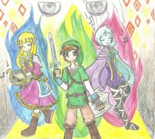 SKYWARD SWORD by XDestinyRoseX