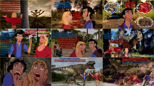 Tulio and Miguel go Walking with Dinosaurs by Dinodavid8rb