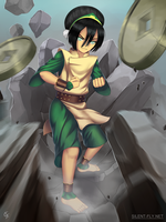 Toph Bei Fong by Silent-fly