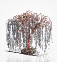 Weeping willow by beads-poet