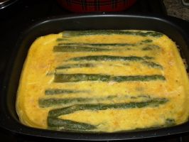 Casserole with Asparagus by blue-crystall
