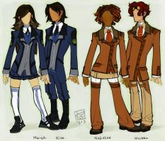 School Uniforms by questionstar