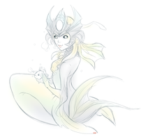 FISH LADY by pianorei