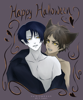 Happy Halloween!! (Ereri) by sulkingmoon
