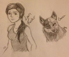 TCD Leah Foster and Goose by WinterWolf10