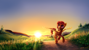 Keep on running by PondisDant