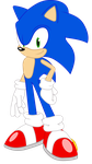 Sonic Equestria Vector - Sonic the Hedgehog by cooleevee759